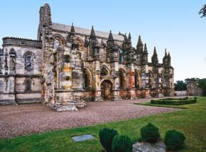 Rosslyn Chapel, founded in 1446